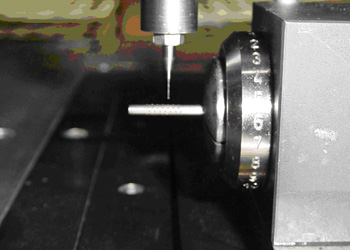 Drilling of minimal (very tiny) holes, up to a diameter of 0.08